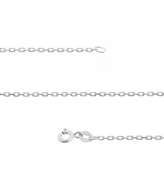 Fit Kolekcja - Sterling Silver Anchor Link chain 42 cm LIGHT